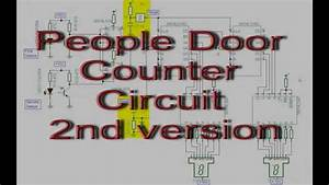 People Door Counter Circuit Diagram