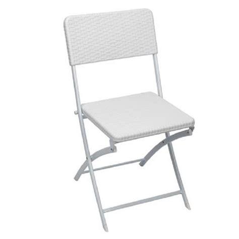 chaise pliante blanche meubles francky shop com