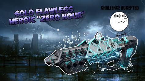 zero hour destiny heroic sans solo ps4