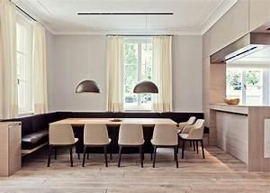 Banc Salle à Manger : salle manger design contemporain en 35 id es inspirantes ~ Teatrodelosmanantiales.com Idées de Décoration