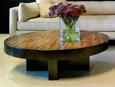 Coffee Table: best design 2017 wood round coffee table