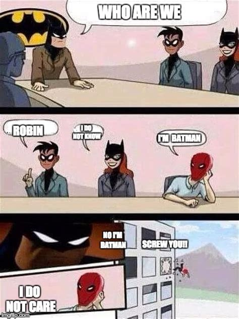 Board Meeting Meme - batman board meeting imgflip