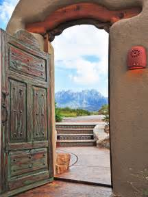Spanish Style Courtyard Entry Doors