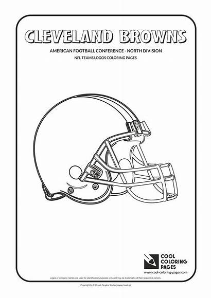 Coloring Nfl Pages Logos Football Cool American