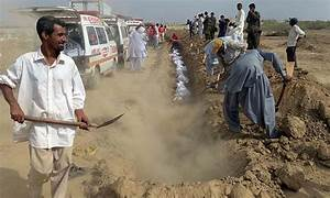 Mass funeral for unclaimed victims of deadly Karachi ...