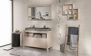 Salle De Bain Bois : meuble salle de bain 120 x 50 ~ Teatrodelosmanantiales.com Idées de Décoration