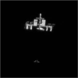 Incredible Video of Shuttle Approaching ISS, Taken from ...