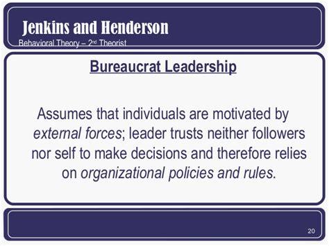 behavioral theories
