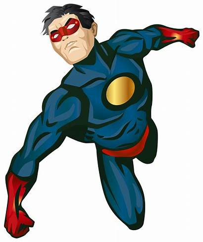 Hero Super Clip Superhero Transparent Clipart Marvel