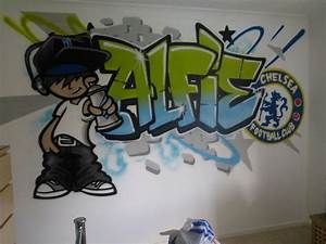 children teen kids bedroom graffiti mural With graffiti letters for bedroom walls