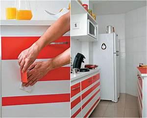 Klebefolien Für Küchenfronten : klebefolie f r k che verwenden und die k chenm bel neu gestalten ~ Watch28wear.com Haus und Dekorationen