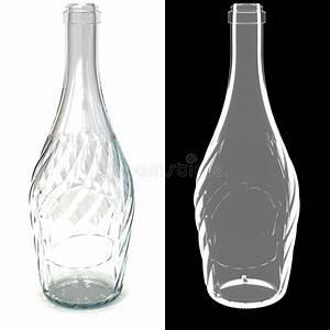 Bouteille En Verre Vide : bouteille transparente en verre vide tordue illustration stock illustration du couleur ~ Teatrodelosmanantiales.com Idées de Décoration