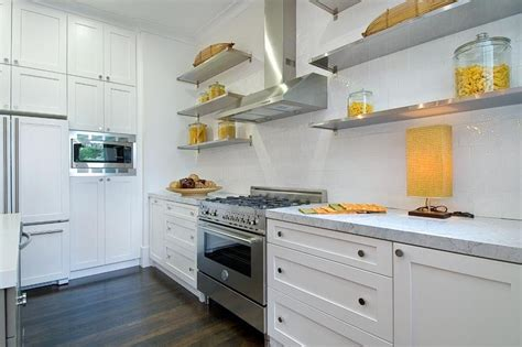 add sleek shine   kitchen  stainless steel shelves