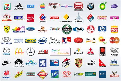 Logos Populärer Marken Früher