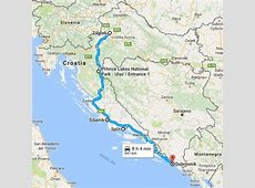 Croatia road trip itinerary; the ultimate guide from