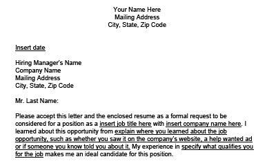 write  great cover letter lovetoknow