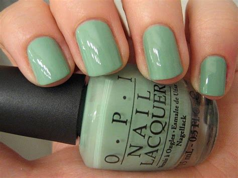 Really Into Light Nail Polish Colors Right Now... Opi