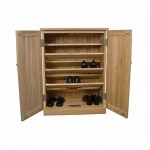 Shoe Storage Cupboard Mobel Oak COR20A