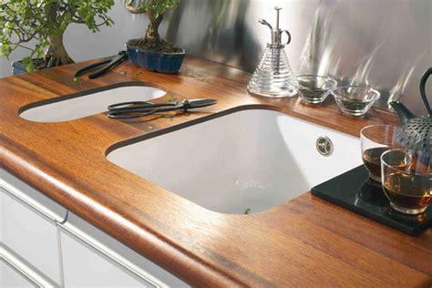 plan de travail cuisine bois massif comment choisir et poser un plan de travail de cuisine