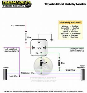 2097 Toyota Tundra Door Lock Wiring Diagram