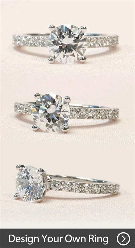 create your own unique engagement ring by working with