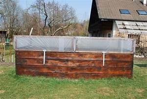 Hochbeet Abdeckung Plexiglas Gartenblog Geniesser Garten Gaertnern