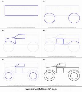 4x4 Truckss  How To Draw 4x4 Trucks Step By Step