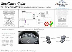 Connects2 Steering Wheel  Stalk Interface For Mercedes