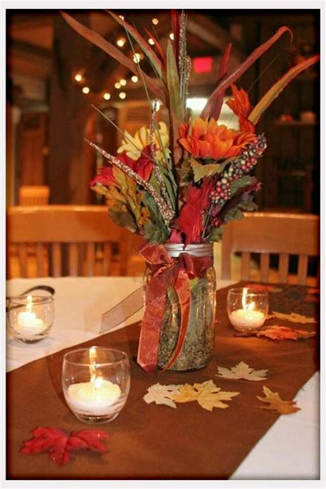 53 fall wedding table settings diy wedding table