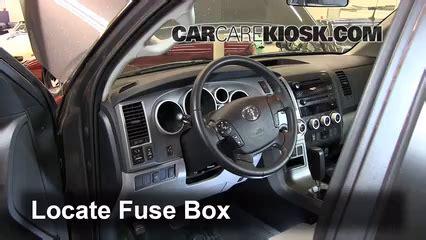 Interior Fuse Box Location Toyota Sequoia