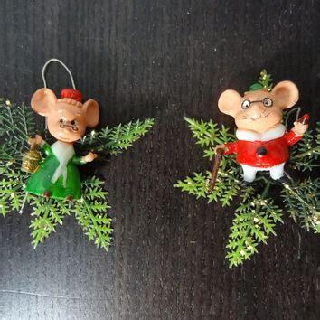 shop vintage plastic ornaments  wanelo