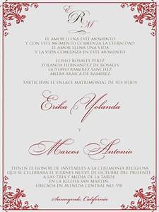 wedding invitation spanish wording weddinginviteus With spanish catholic wedding invitations