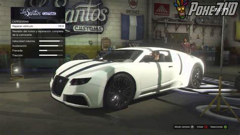 gta  como conseguir  bugatti veyron gratis localizacion  robarlo gta  youtube