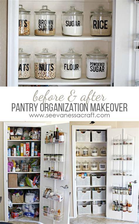 Kitchen Pantry Organization Ideas by Organization Small Pantry Makeover Organization
