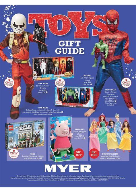 Myer Catalogue Christmas 2014
