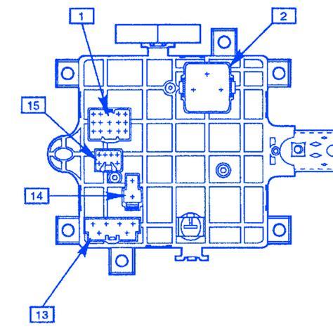 gm   junction electrical circuit wiring diagram