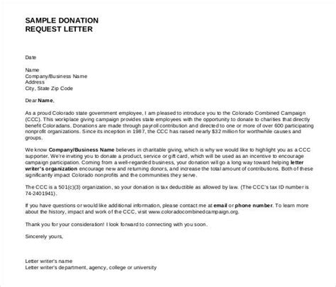 donation request letter template doliquid