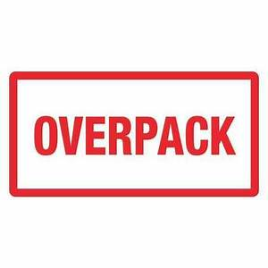 tape logic overpack label 3x6quot dl1374 zorocom With 3x6 labels