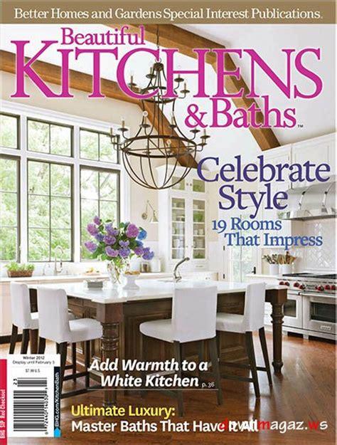 beautiful kitchens baths magazine winter