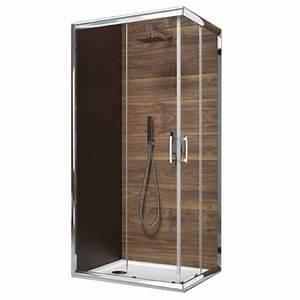 Porte Coulissante Angle Droit : paroi de douche d 39 angle portes coulissantes verre ~ Melissatoandfro.com Idées de Décoration