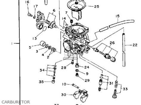 Wiring Diagram Yamaha Xt225 by Yamaha Xt225d Dc 1992 Parts List Partsmanual Partsfiche