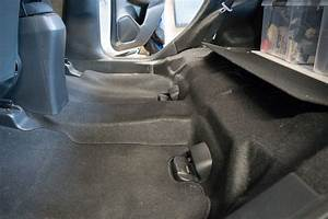 Removal Of Rear Seats