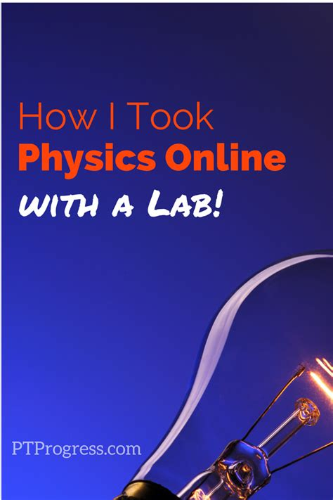 physics courses  college credit