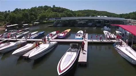 Performance Boats Lake Of The Ozarks by Cigarette Run Lake Of The Ozarks 2015 Drone