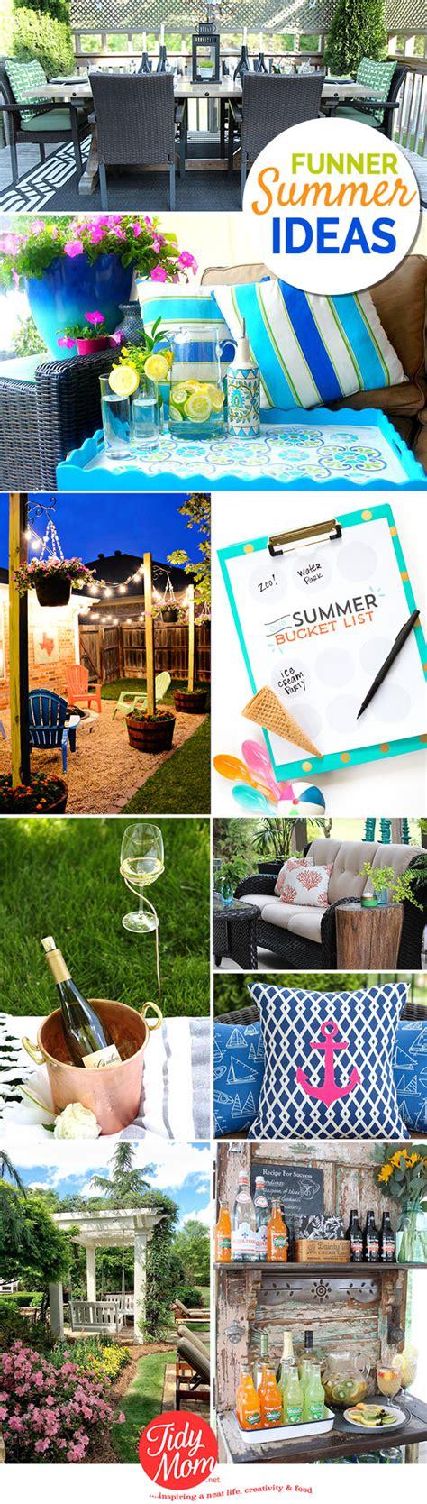 diys for summer summer diys funner ideas tidymom