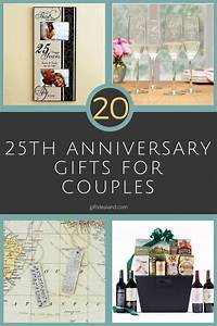 27 good 25th wedding anniversary gift ideas for him her With 25th wedding anniversary gift ideas for couples