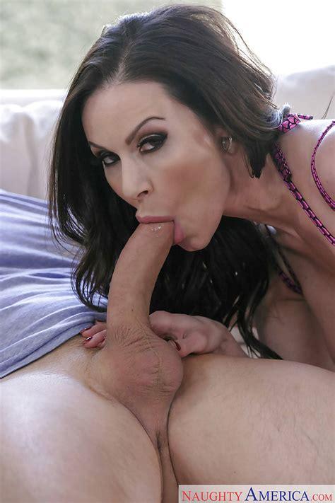 Milf Kendra Lust Sucks Big Cock In A Purple Bikini