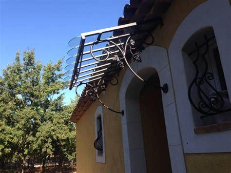 fabriquer une marquise en fer marquise en fer forg 233 224 aix en provence grappes de raisin et p 233 tales de ferronnier var