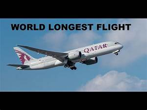 World's Longest Commercial Flight QATAR Doha To Auckland ...