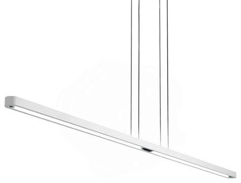 artemide talo linear suspension light contemporary